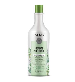 Inoar Herbal Solution Conditioner Kondicionierius su alyvuogių, jazminų ir rozmarinų ekstraktu, 1000ml | inbeauty.lt