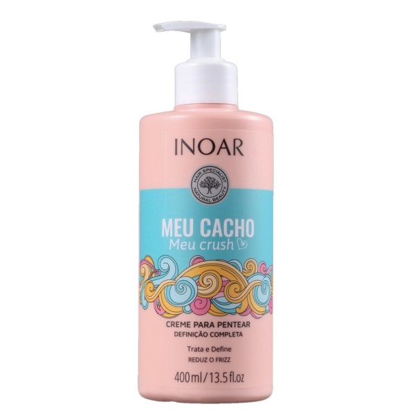 Meu Cacho Meu Crush Conditioner Kondicionierius garbanotiems plaukams, 400ml