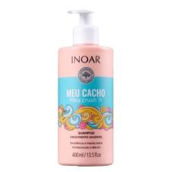 Meu Cacho Meu Crush Shampoo Šampūnas garbanotiems plaukams, 400ml