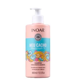 Inoar Meu Cacho Meu Crush Shampoo Šampūnas garbanotiems plaukams, 400ml | inbeauty.lt