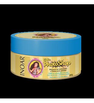 Inoar Photoshop Mask Blizgesio suteikianti plaukų kaukė su keratinu, 250 g | inbeauty.lt