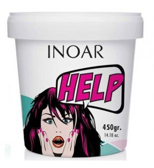 Inoar Help Mask Repair Ultra Atkuriamoji plaukų kaukė, 450 g | inbeauty.lt