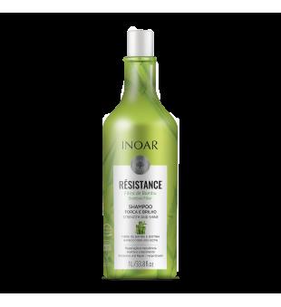 Inoar Resistance Fibra de Bambu Shampoo Stiprinantis ir blizgesio suteikiantis šampūnas, 1000ml | inbeauty.lt