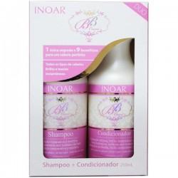 Rinkinys plaukų gydymui ir drėkinimui BB cream kit duo, 2x250 ml