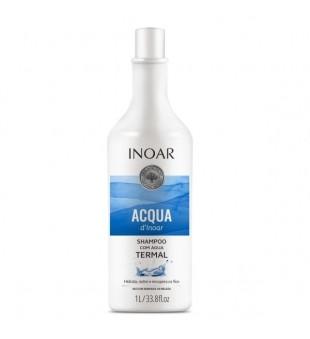 Inoar Aqua Thermal Shampoo Atkuriamasis šampūnas, 1000ml | inbeauty.lt