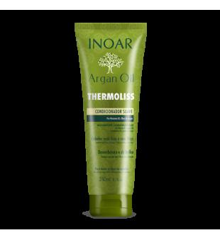 Inoar  Argan Oil Thermoliss Besipučiančių plaukų kondicionierius, 240 ml | inbeauty.lt