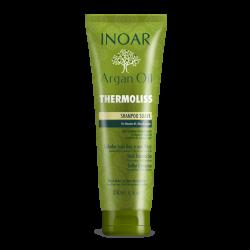 Argan Oil Thermoliss Besipučiančių plaukų šampūnas, 240 ml