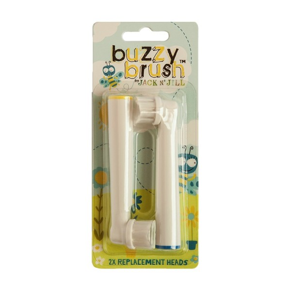 Buzzy Brush Replacement Heads Elektrinio šepetėlio galvučių pakeitimai, 2vnt