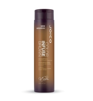Joico Color Infuse Brown Shampoo Spalvą atgaivinantis šampūnas brunetėms, 300ml | inbeauty.lt