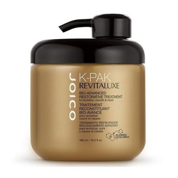 K-Pak Revitaluxe Restorative Treatment Atkuriamoji plaukų kaukė, 480ml