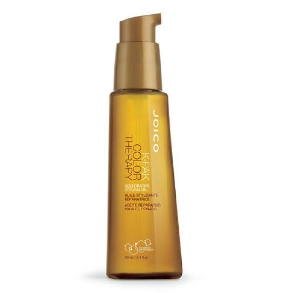 K-Pak Color Therapy Restorative Styling Oil Atkuriamasis plaukų aliejus, 100ml
