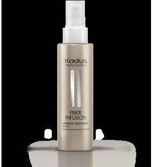 Kadus Fiber Infusion 5 Minute Treatment Intensyvi atkuriamoji priemonė su keratinu, 100ml | inbeauty.lt