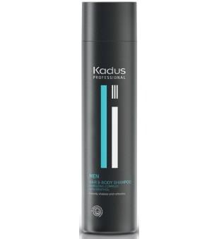 Kadus Men Hair & Body Shampoo Plaukų ir kūno šampūnas vyrams su mentoliu, 250ml | inbeauty.lt