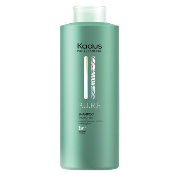 P.U.R.E Shampoo Šampūnas plaukams su sviestmedžiu, 1000ml
