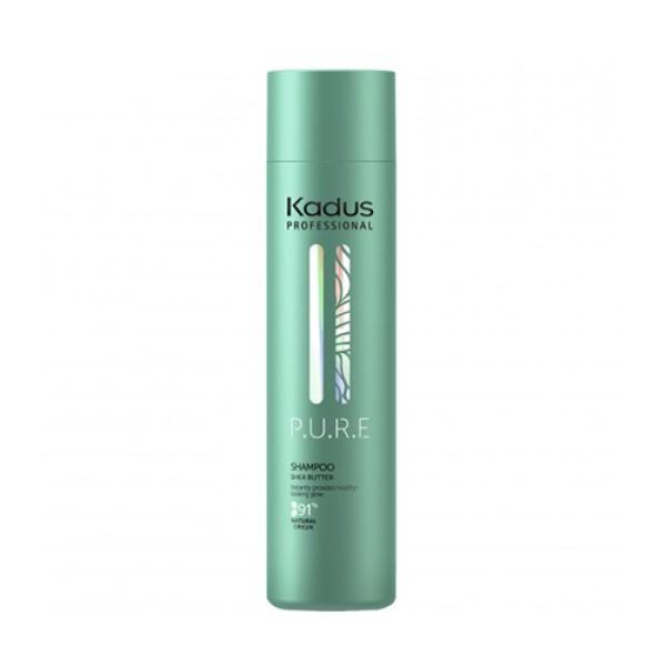 P.U.R.E Shampoo Šampūnas plaukams su sviestmedžiu, 250ml