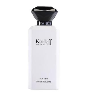 Korloff In White Eau de Toilette Tualetinis vanduo vyrams, 88ml   inbeauty.lt