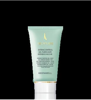 Keenwell Biopure Extracontrol Intensive Purifying Gel Night Intensyviai valantis naktinis gelis veidui, 60ml | inbeauty.lt