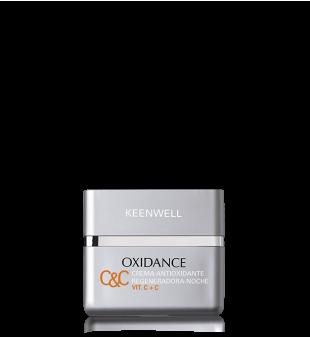 Keenwell Oxidance Regenerating Night Cream Atkuriamasis naktinis veido kremas su vitaminu C, 50ml | inbeauty.lt