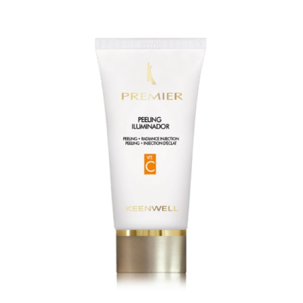 Premier Basic Peeling Illuminator Skaistinantis veido šveitiklis su vitaminu C, 60ml