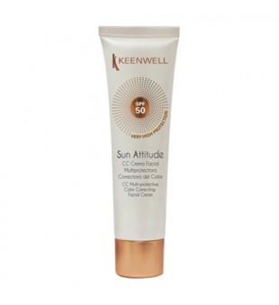Keenwell Sun Attitude CC Cream SPF50 Apsauginis CC kremas, 60ml   inbeauty.lt