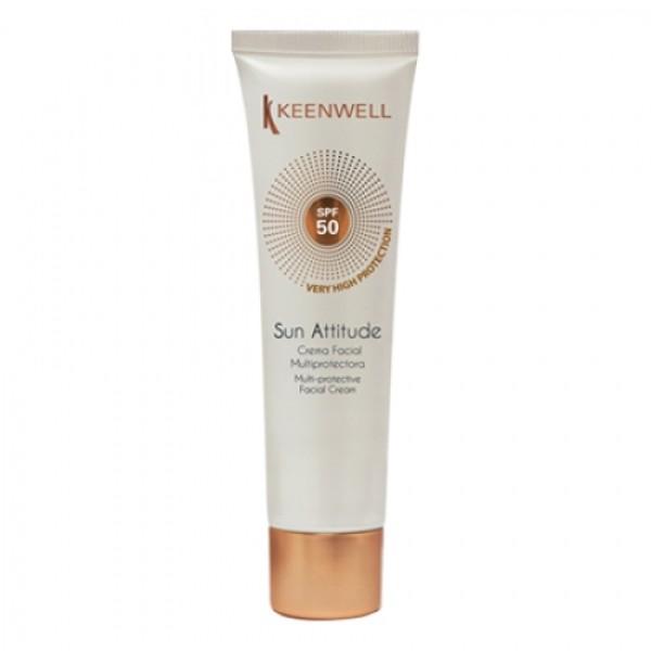 Sun Attitude Facial Cream SPF50 Apsauginis kremas nuo saulės veidui, 60ml