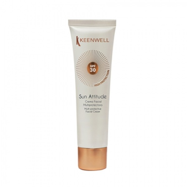 Sun Attitude Facial Cream SPF30 Apsauginis kremas nuo saulės veidui, 60ml