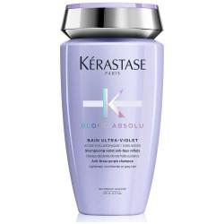 Blond Absolu Bain Ultra-Violet Nautralizuojantis šampūnas šviesiems plaukams, 250ml