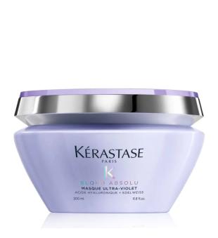 Kerastase Blond Absolu Masque Ultra-Violet Neutralizuojanti kaukė šviesiems plaukams, 200ml | inbeauty.lt
