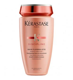 Kerastase Discipline Bain Fluidealiste Šampūnas nepaklusniems, gyvybingumą praradusiems plaukams, 250ml | inbeauty.lt