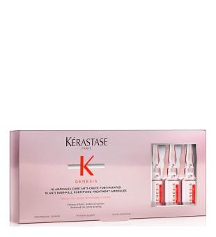 Kerastase Genesis Anti Hair-Fall Fortifying Treatment Ampoules Stiprinamasis serumas slenkantiems plaukams, 10x6ml   inbeauty.lt