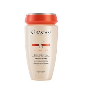 Kerastase Nutritive Bain Magistral Intensyviai maitinantis šampūnas, 250ml | inbeauty.lt
