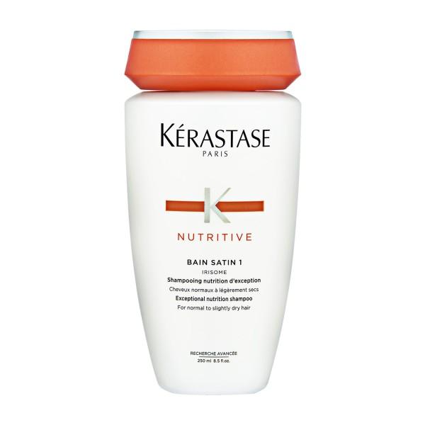 Nutritive Bain Satin 1 Maitinamasis šampūnas, 250ml