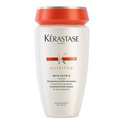 Nutritive Bain Satin 2 Maitinamasis šampūnas, 250ml