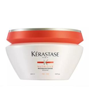 Kerastase Nutritive Masquintense Irisome Intensyviai maitinanti kaukė sausiems, ploniems plaukams, 200 ml | inbeauty.lt