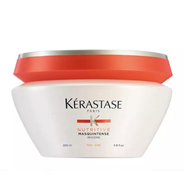 Nutritive Masquintense Irisome Intensyviai maitinanti kaukė sausiems, ploniems plaukams, 200 ml
