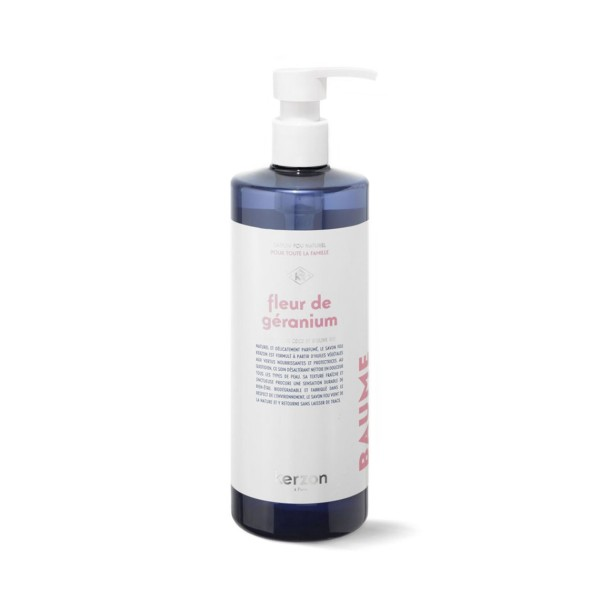 Liquid Soap Fleur de Géranium Parfumuotas rankų ir kūno prausiklis, 500ml
