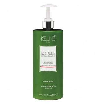 Keune SO PURE COLOR CARE Kondicionierius plaukų spalvos apsaugai, 1000ml | inbeauty.lt