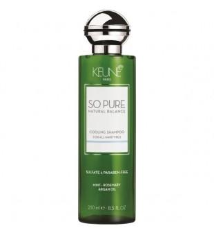 Keune SO PURE COOLING Šampūnas su vėsinančiu efektu, 250ml | inbeauty.lt
