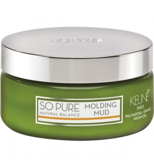Keune SO PURE Molis plaukų modeliavimui - Molding Mud, 100ml | inbeauty.lt