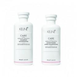 Care Line KERATIN SMOOTH Plaukų priežiūros rinkinys, 1vnt.