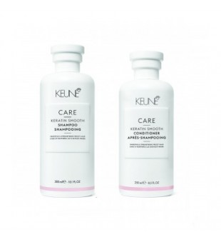 Keune Care Line KERATIN SMOOTH Plaukų priežiūros rinkinys, 1vnt. | inbeauty.lt