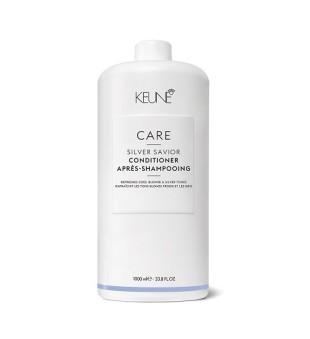 Keune Care Line SILVER SAVIOR Kondicionierius sidabriniams atspalviams puoselėti, 1000 ml | inbeauty.lt