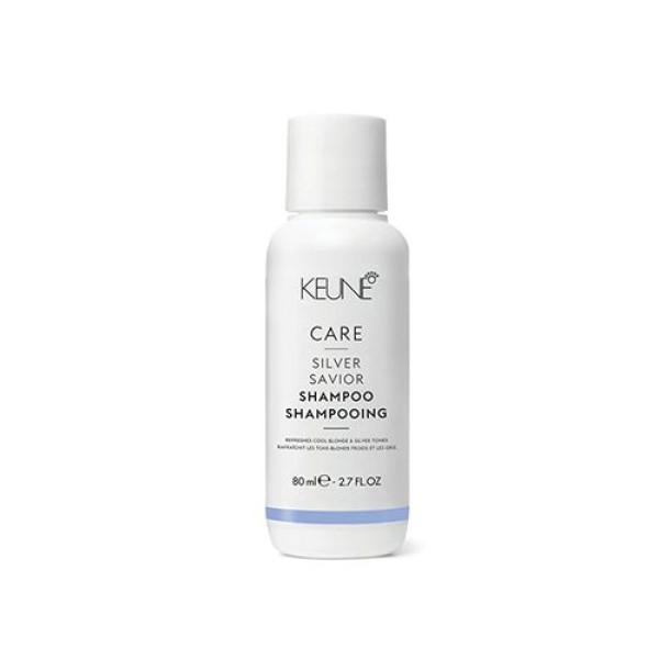 Care Line SILVER SAVIOR Šampūnas sidabriniams atspalviams puoselėti, 80 ml