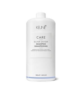 Keune Care Line SILVER SAVIOR Šampūnas sidabriniams atspalviams puoselėti, 1000 ml | inbeauty.lt