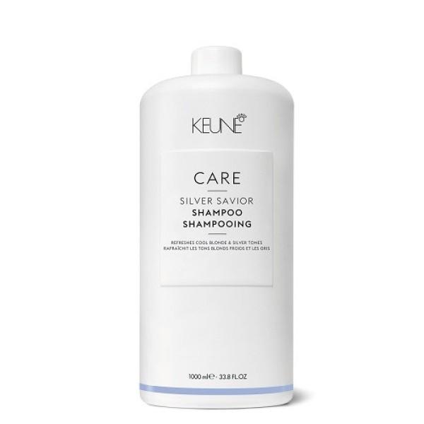 Care Line SILVER SAVIOR Šampūnas sidabriniams atspalviams puoselėti, 1000 ml