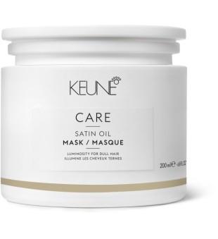 Keune Care Line SATIN OIL Kaukė sausiems, pažeistiems plaukams, 200 ml | inbeauty.lt