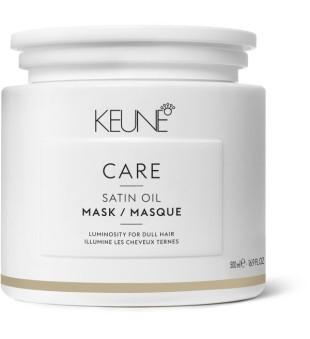 Keune Care Line SATIN OIL Kaukė sausiems, pažeistiems plaukams, 500 ml | inbeauty.lt