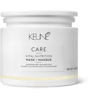 Keune Care Line VITAL NUTRITION Kaukė sausiems, pažeistiems plaukams, 200 ml | inbeauty.lt