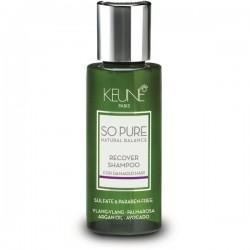 SO PURE RECOVER Šampūnas pažeistiems plaukams, 50 ml