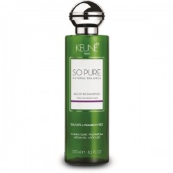 SO PURE RECOVER Šampūnas pažeistiems plaukams, 250 ml